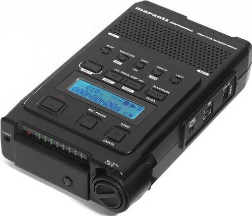 Marantz PMD660/U3B Hand-Held CompactFlash Recorder