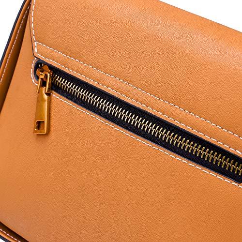 main Bruce sac Marron sac sac pour Nouveau cuir à bandoulière femme Wang en large à à bandoulière nfRfrIHq