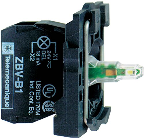 SCHNEIDER ELECTRIC ZB5AW0G31 1NO LED Lamp Module and Contact