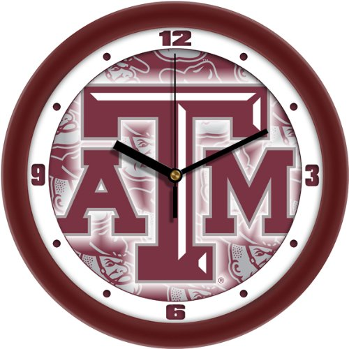 SunTime NCAA Texas A&M Aggies Wall Clock -