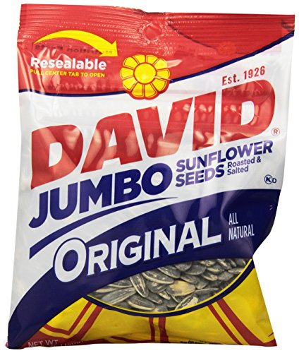 David Seeds Jumbo Sunflower, Original, 5.25 Ounce (Pack of 12)