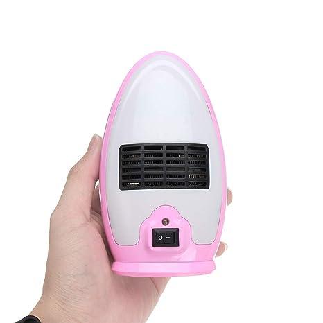 SJHUO 200W 220V Calentador eléctrico Mini Calentador de Aire Caliente eléctrico Estufa de Ventilador para la