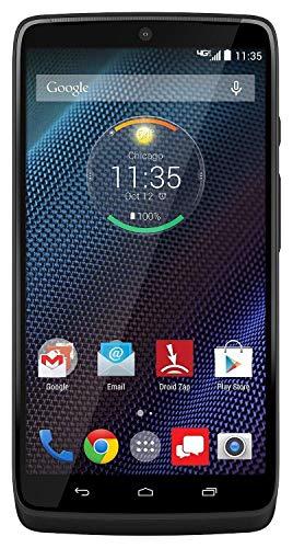 Motorola Droid Turbo 32GB Verizon 4G LTE Android Phone w/ 21MP Camera - Black (Renewed) (Motorola Droid 4)