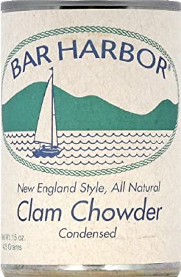 Bar Harbor New England Style Clam Chowder 15 oz (Pack of 3)