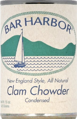 New England Clam Chowder - Bar Harbor Soup Chwdr Clam New Eng (Pack of 3)