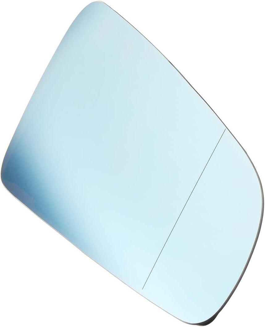 Viviance Gauche Droite Bleu R/étroviseur Voiture Miroir pour Audi A4 B6 B7 A6 C6 2005-2008 Droit