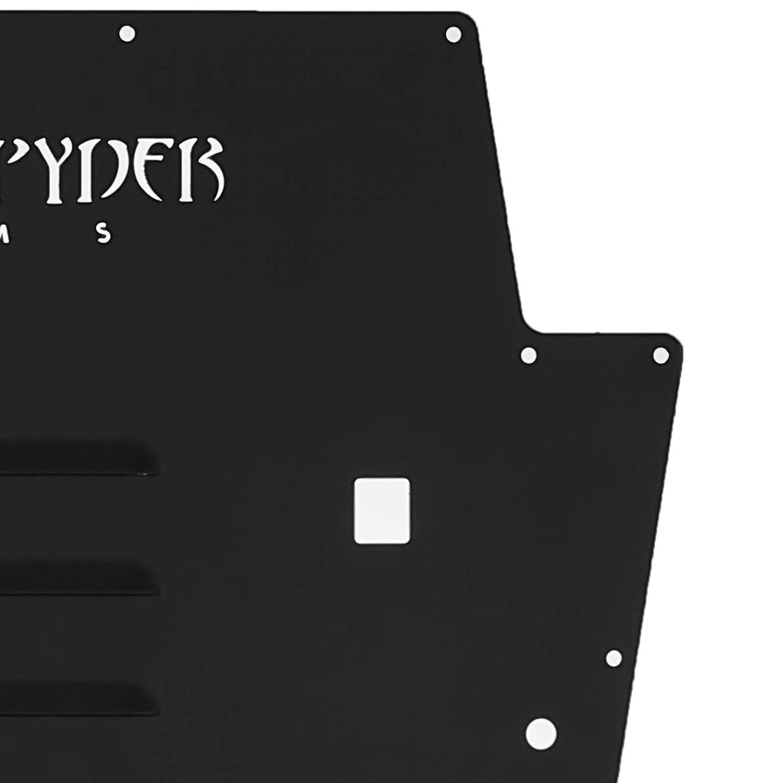 Bestauto Vented Hood Louver Black Powdercoat for 2013-2017 Jeep Wrangler JK