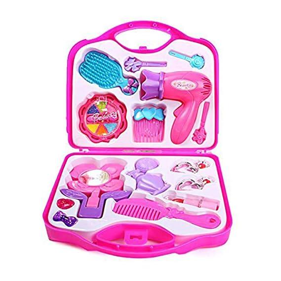 SR TOYS Beauty Set for Girls, Pink