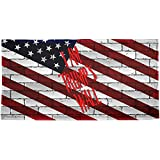 Old Glory Election 2016 I Am Donald Trump's Border Wall All Over Beach Towel Multi Standard One Size