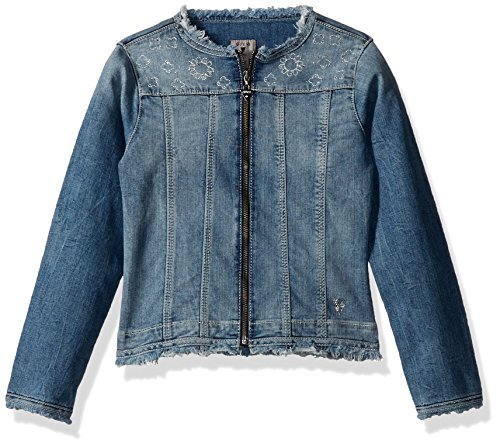 GUESS Girls Embroidered Edge Jacket product image