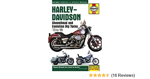 harley davidson shovelhead evolution big twins 1970 1999 haynes rh amazon com Harley-Davidson Knucklehead Harley-Davidson FLH