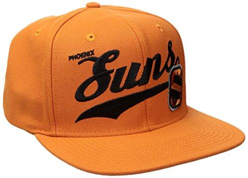 NBA Phoenix Suns Men's Tail Sweep Flat Brim Snapback Hat, Orange, One Size – DiZiSports Store