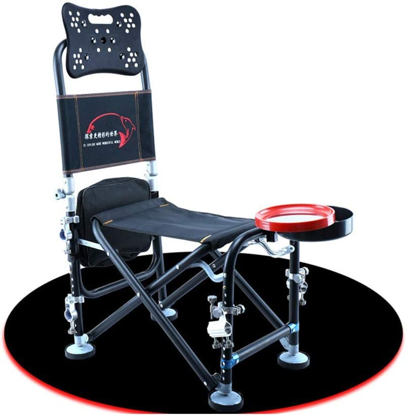 Portable Camping Chair. Professional Fishing Chair Foldable Outdoor Heavy Camping//Picnic//Hiking//Beach Bench