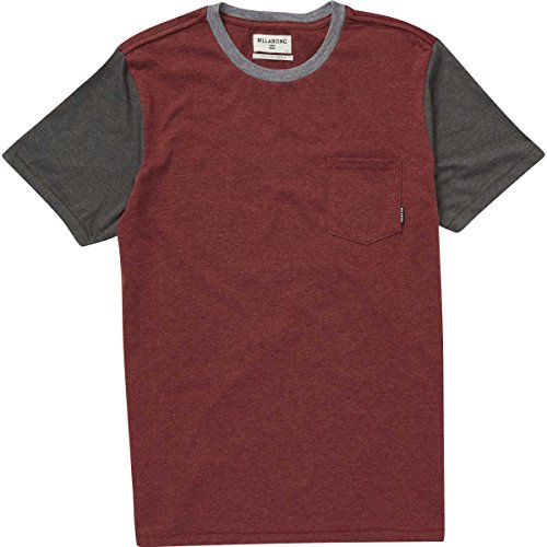 Port Zenith (Billabong Men's Zenith Short Sleeve Crew, Port, M)