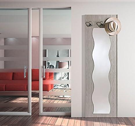 Appendiabiti Con Specchio.Arredaweb Pannello Per Ingresso Art 698 Con Specchio E Tre Pomoli
