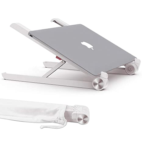 para Soporte, Multi ángulo y Altura Regulable, Tablet para 10 a 17.3, MacBook