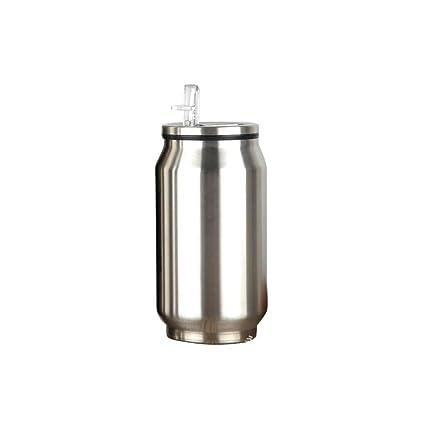 Botella de Agua Botella Térmica con Paja Acero Inoxidable ...