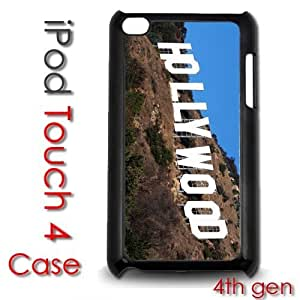 IPod Touch 4 4th gen Touch Plastic Case - Hollywood Sign Los Angeles Stars Celeberties