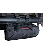 """Bushwhacker UTV Small Cylinder Bag for Roll Bar - Dimensions 8.5"""" x 4"""" - Side by Side Pack SxS Luggage Storage ATV Accessories Rollbar Cage Overhead Snowmobile Organiser"""
