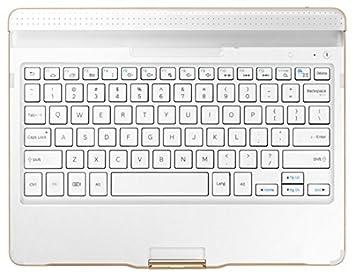 """Samsung EJ-CT800SWEGES - Funda con Teclado Galaxy Tab S 10.5"""", Color Blanco"""
