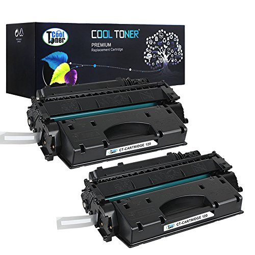 Cool Toner Compatible Toner Cartridge Replacement for Canon 120 CRG-120 Cartridge 120 Canon Imageclass D1550 D1520 D1320 D1120 D1350 D1150 D1370 D1170 D1180 Canon D1520 D1550 Ink Toner Printer 2Pack ()