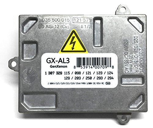 Replacement Xenon Hid Ballast For Cadillac Dts  Audi A4 S4  Saab 9 7X  Volvo Headlight Control Unit Module Replaces 307 329 115  307 329 098