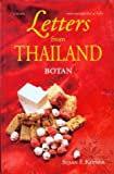 Front cover for the book Letters from Thailand by Botan