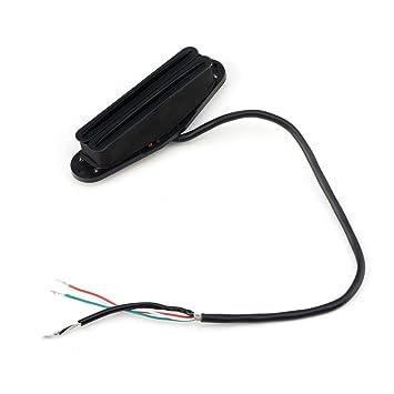 Black Single Coil Size Railblaster Electric Strat Guitar Humbucker ...