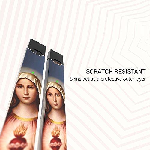 2 Pack - Virgin Mary Decal Sticker Vinyl Skin for Juul Vape