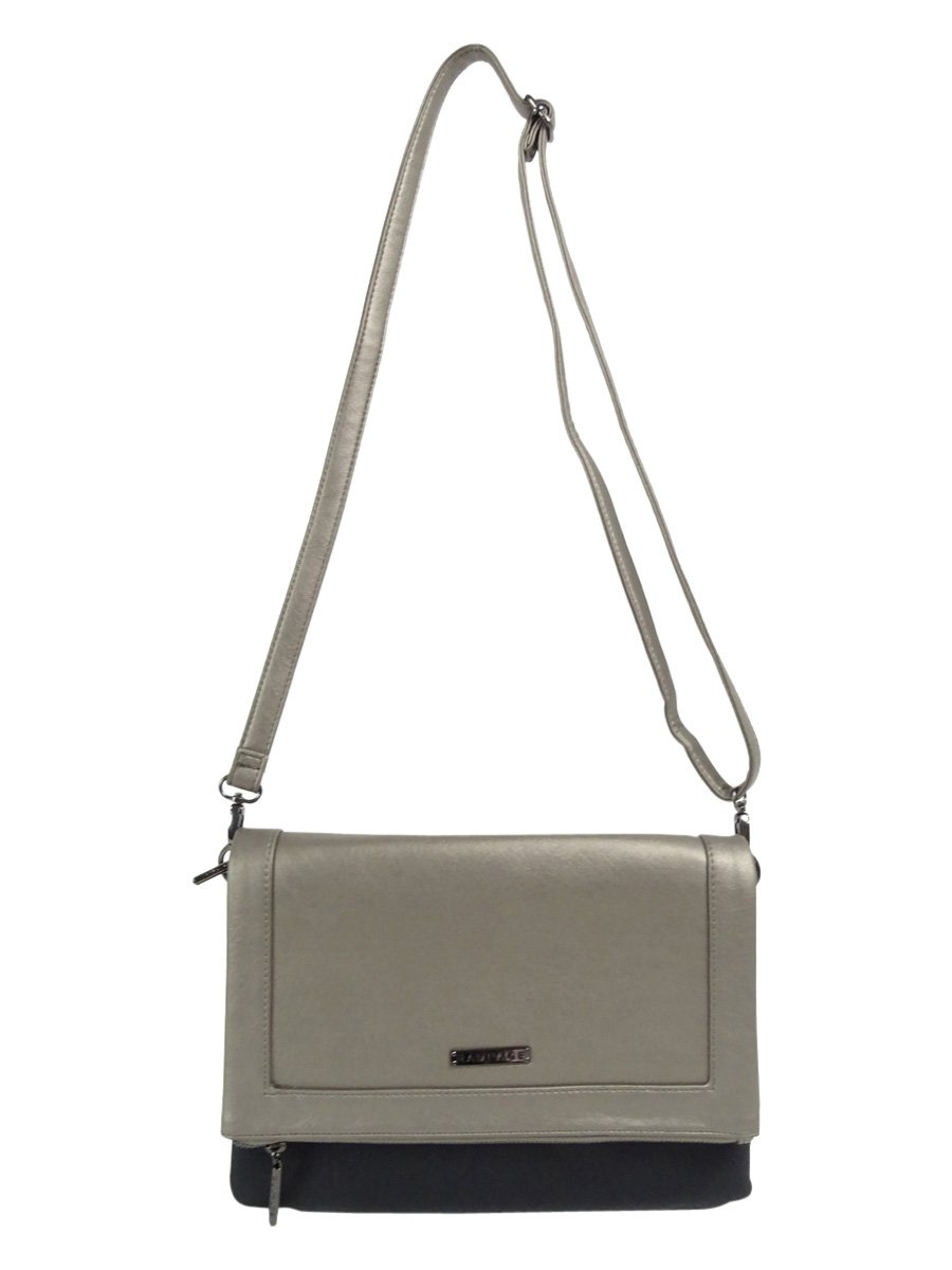 Rampage Foldover Crossbody Convertible Clutch by Rampage