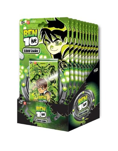 Ben 10 Collectible Card Game Blister Box (12 Blister Packs) - Ben 10 Card Game