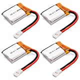 XCSOURCE Syma S107/S107G/S108 Set of Upgraded 3.7V Lithium Polymer 180mAh LiPo Battery for RC Helicopter RC216
