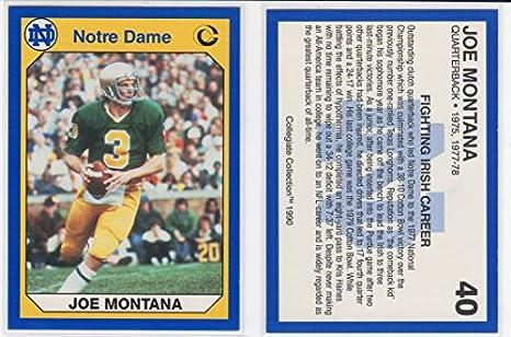 Joe Montana Notre Dame Fighting Irish College Football