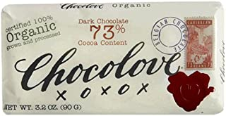 product image for Chocolove Premium Dark Chocolate Bars, Organic 73% Cocoa Content, 3.2-Ounce Bars (Pack of 12)