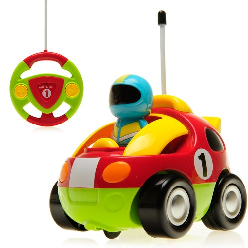 Team R/C Cartoon R/C Race Car Radio Control Toy for Toddlers Team R/C