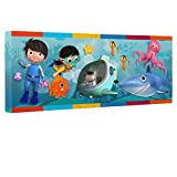Little Baby Bum Under Water Kids Room Canvas Decor