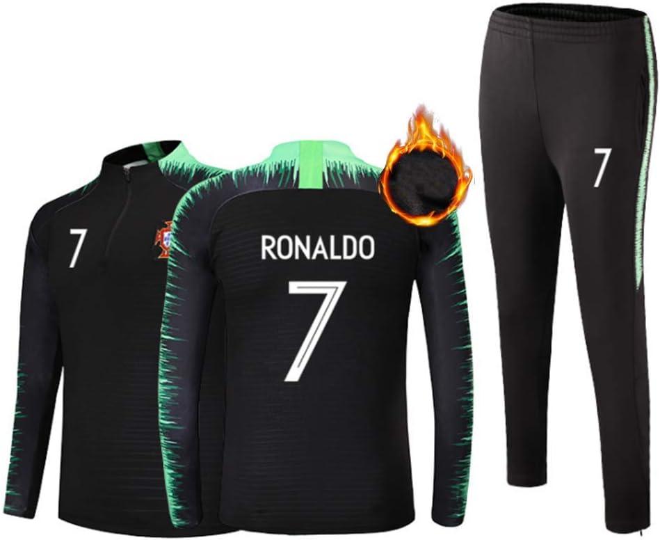 TT377 Ronaldo Camiseta de Entrenamiento de Manga Larga para ...
