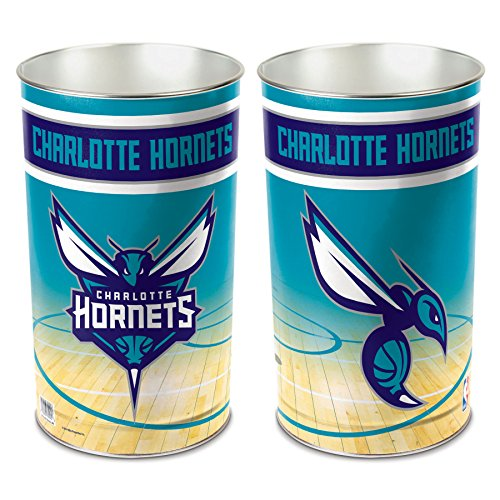 NBA Charlotte Hornets Wastebasket, Multicolor