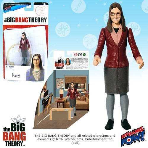 The Big Bang Theory Amy Farrah Fowler 3 3/4-Inch Series 1 by Bif Bang Pow!