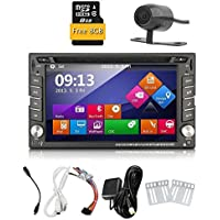 Car Autoradio 2din GPS SAT Navigation TouchScreen Car DVD Player In-dash Car Audio Car Stero AM/FM Radio Bluetooth Map iPod Backup Camera