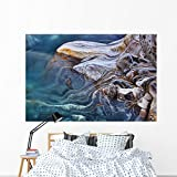 Metamorphic Stone Wall Mural by Wallmonkeys Peel and Stick Graphic (72 in W x 48 in H) WM70481