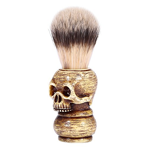 Multi-type Shaving Brushes Set & Shaving Brushes Razor Shaving Stand Holder Shaving Grooming Bowl Mug Set Shaving Razor Bag for Home Travel Use (#1 Brush) (Shaving Stand Brush Multi)