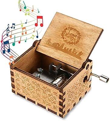 MOGOI Caja de música de Madera con diseño de la Leyenda de Zelda ...