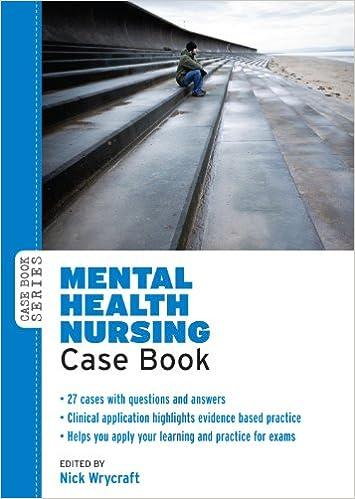 Mental Health Nursing Case Book Case Books Lib