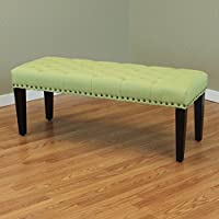 Monsoon Pacific Sopri Upholstered Bench, Apple Green