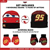 Disney Cars Lightning McQueen Winter Hat 2 Pair