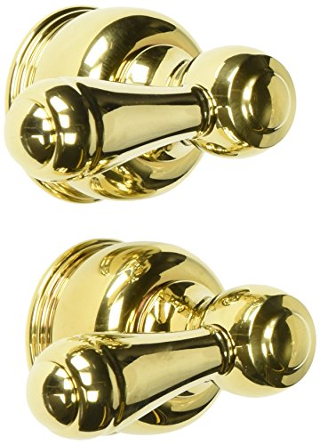 Delta Faucet H25PB Neostyle, Two Metal Lever Handle Kit, Polished Brass