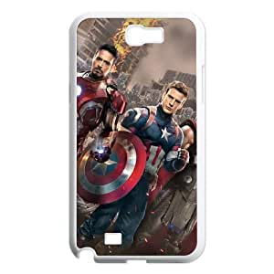 (BWDR) Samsung Galaxy N2 7100 Cell Phone Case White Captain America