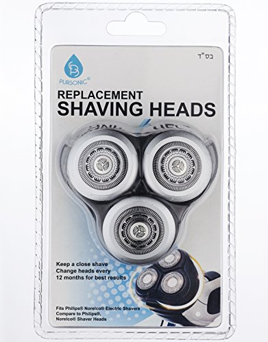 norelco 3d series shaving heads - 8