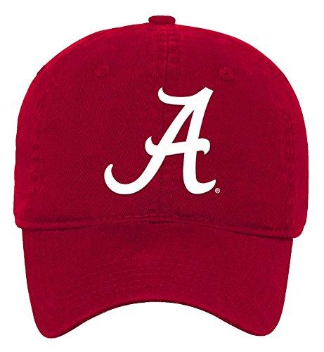 NCAA Alabama Crimson Tide Kids & Youth Boys Team Slouch Adjustable Hat, Victory Red, Kids One (Crimson Ncaa Hat)